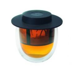 Tazza doppio vetro 200 ml con filtro finum