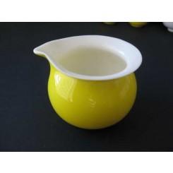 Teiera gialla senza coperchio di porcellana 200 ml
