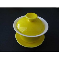 Gaiwan giallo 120 ml